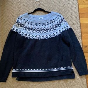 Old navy winter sweater